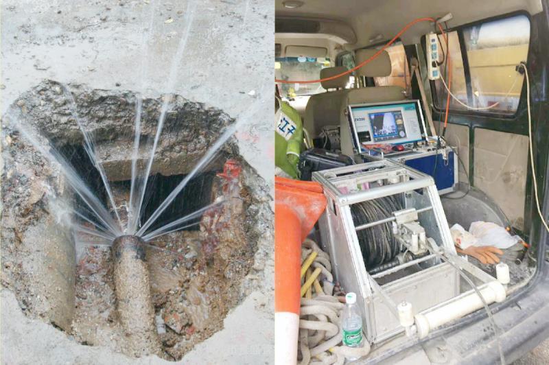 上海管道漏水應急處理