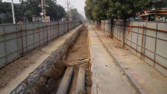 上海管道掘挖步驟