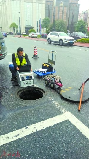 上海嘉定污水管道CCTV檢測-上海嘉定管道內窺檢測