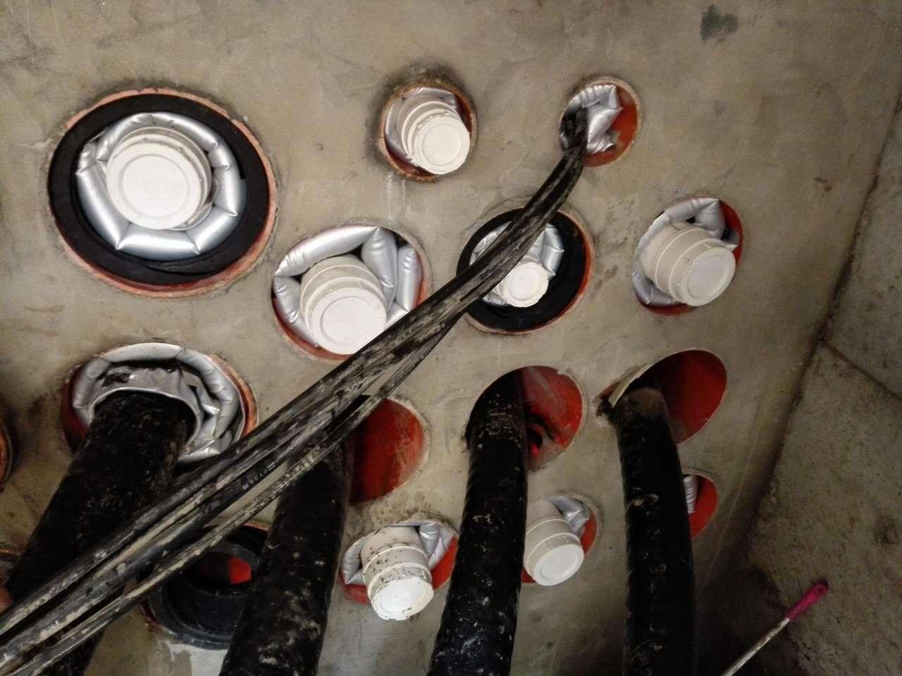 上海浦東污水管道氣囊封堵
