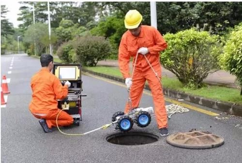 上海排水管道電視檢測范疇